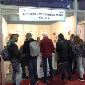 Magadi Kalimba in Frankfurt music fair